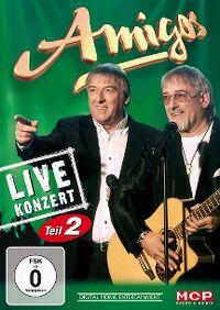 Cover Amigos - Live Konzert - Teil 2 [DVD]